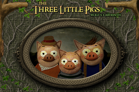 Screenshot Three Little Pigs: Wolf's Labyrinth