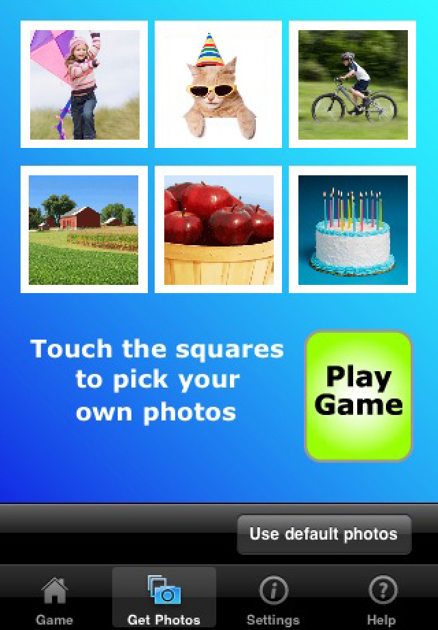 Screenshot PhotoMatchTots- children's memory puzzle game